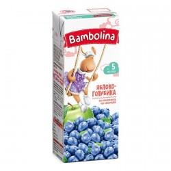 Сок Bambolina нектар нектар яблоко-голубика (с 5-ти мес.) 200 мл