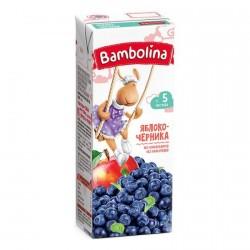 Сок Bambolina нектар нектар яблоко-черника (с 5-ти мес.) 200 мл