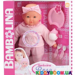 Говорящая кукла Роза с аксессуарами Bambolina BD360UA