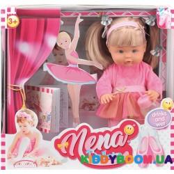 Говорящая кукла NENA – маленькая балерина  Bambolina BD380-50SUA