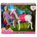 Набор с куклой Прогулка верхом Barbie DHB68