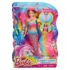 Кукла Барби - Русалочка: Яркие огоньки Barbie DHC40