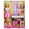 Набор Стильные прически Barbie DJP92