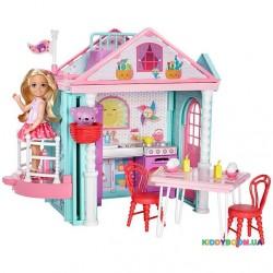 Игровой набор Домик развлечений Челси Barbie Mattel DWJ50