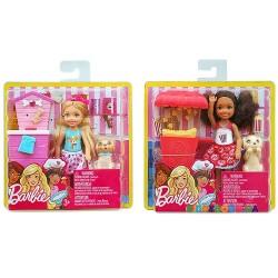 Игровой набор Вкусные развлечения Челси в (ассортименте) Barbie FHP66