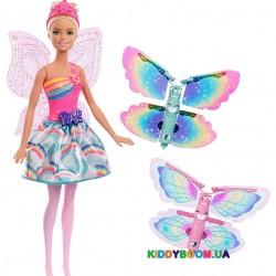 Кукла Barbie Фея Летающие Крылья FRB08