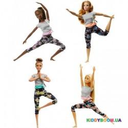 Кукла Barbie «Двигайся как я» в ассортименте Mattel FTG80