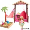 Игровой набор Пляжный домик Челси Barbie FWV24
