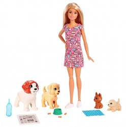 Игровой набор Barbie Щенячий детский сад FXH08