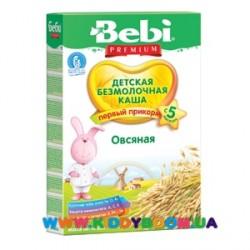 Каша безмолочная Bebi овсяная (с 5 мес.) 200 гр