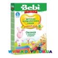 Детская безмолочная овсяная каша Bebi Premium® с лесными ягодами 200 г.