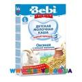 Молочная овсяная каша Bebi Premium® с козьим молоком, обогащенная пребиотиками 200 г.