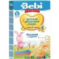 Молочная каша Bebi Premium рис с курагой (с 4-х мес.) 250 г