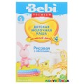 Молочная каша Bebi Premium рис с яблоком ( с 4- х мес.)  250 г