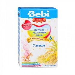 Каша молочная Bebi 7 злаков (с 6 мес.) 200 гр.