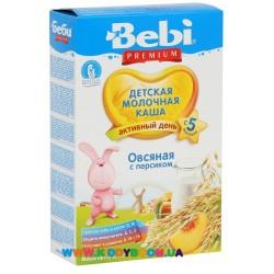 Каша молочная Bebi Овсяная с персиком (с 5 мес.) 250 гр.