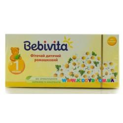Фиточай детский ромашковый 30 г Bebivita 1383