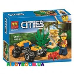 Конструктор «Багги для поездок по джунглям» Cities Bela 10707