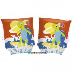 Нарукавники плавательные Черепаха BestWay 32043, 2 цвета