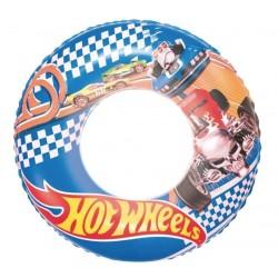 Надувной круг (56 см) Hot Wheels Best Way BW 93401