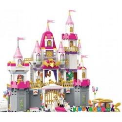 Конструктор PRINCESS Замок (940 эл) Brick 2612