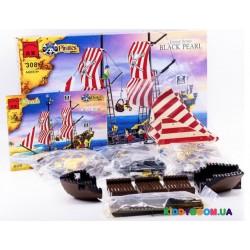 Конструктор Пиратский корабль (870 эл) Brick 308