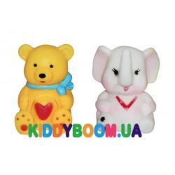 Набор резиновых игрушек-пищалок 2 шт Бусинка 8848