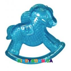 Силиконовый прорезыватель с водой лошадка Бусинка 1081