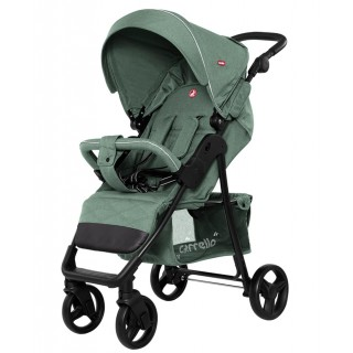 Прогулочная коляска CARRELLO Quattro Pine Green CRL-8502/3 с дождевиком