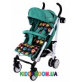 Прогулочная коляска-трость CARRELLO Allegro Monster Green CRL-10101