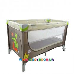 Манеж-кровать со вторым дном CARRELLO PICCOLO+ CRL-920101