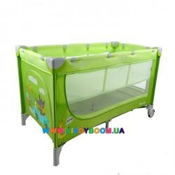 Манеж-кровать со вторым дном CARRELLO PICCOLO+ CRL-9201