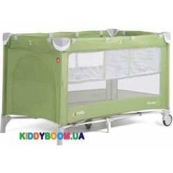 Манеж-кровать Carrello Piccolo+Sunny Green со вторым дном CRL-9201/1