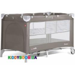 Манеж-кровать Carrello Piccolo+Chocolate Brown со вторым дном CRL-9201/1
