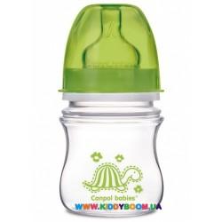 Антиколиковая бутылочка с широким горлышком Цветные зверушки EasyStart, 120 мл Canpol 35/205