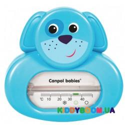 Термометр для воды собачка/котик Canpol 56/142