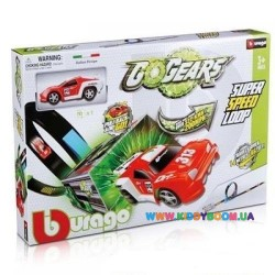 Игровой набор Трек Невероятная петля серии GoGears Bburago 18-30278