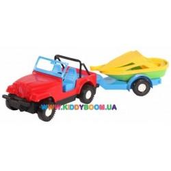 Авто-джип с прицепом Тигрес 39007