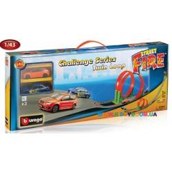 Игровой набор Трек Скоростная петля Bburago 18-30070