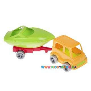 Авто з прицепом Kid Cars Sport 3D Wader 52600