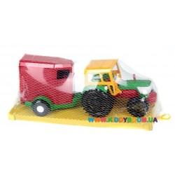 Трактор с прицепом Wader 39215