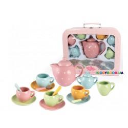 Набор фарфоровой посуды Champion чайный игровой разноцветный CH12066