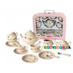 Набор фарфоровой посуды Champion игровой чайный Роза CH12067