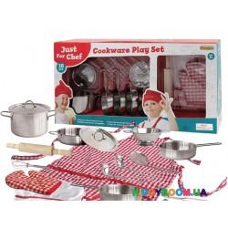 Набор посуды игровой  Champion Делюкс кухонный  CH205114