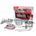 Набор посуды Champion игровой кухонный из нержавеющей стали CH21052