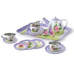 Чайный набор посуды Бабочка 15 единиц Champion CH41025