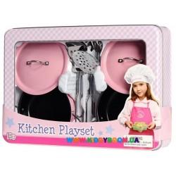 Набор посуды из нержавеющей стали 8 элементов Champion CH92008