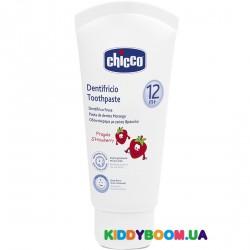 Зубная паста Клубника Chicco 02321.10, 50 мл