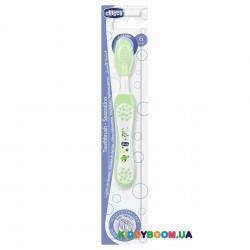 Детская зубная щетка Chicco 06958.00, зеленая