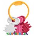 Игрушка-погремушка Chicco Ключики розовая 63216.10